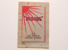 DISCOL THE ALCOHOL MOTOR SPIRIT (1924)